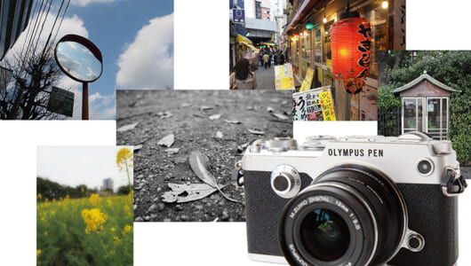 【デジカメレビュー】カメラを持つ喜びがよみがえる! 写真欲を刺激する「OLYMPUS PEN-F」