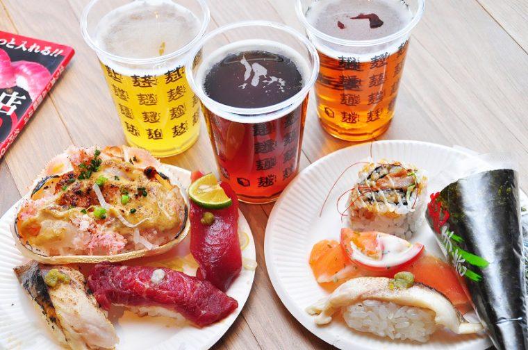 ↑「寿司フェス」にて