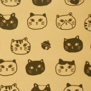 ↑財布の内側には猫のプリントが