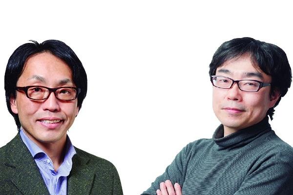 ↑比較を行なった吉田あたろうさん(左)、平島憲一郎さん(右)