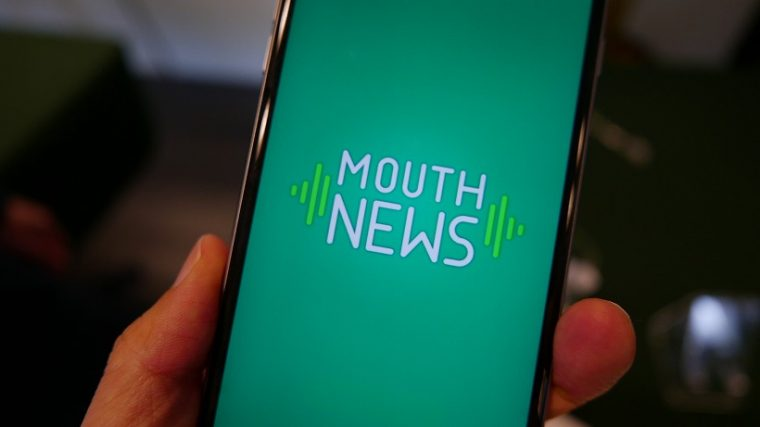 ↑「MOUTH NEWS」のトップ画面