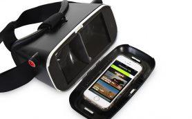 iPhoneで360度のバーチャル映像体験! 約1万円のお手軽VRヘッドセット「STEALTH VR」