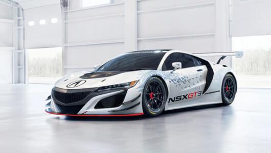 【動画】ノンハイブリッドの3.5リッター・ツインターボ搭載! 新型NSX GT3が発進