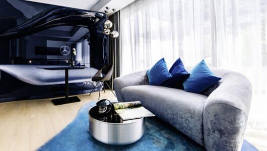 シンガポールに行くなら! メルセデス・ベンツがプロデュースしたホテルがカッコよすぎる