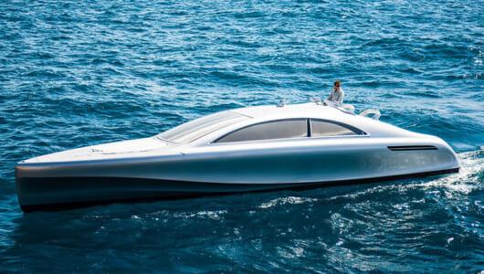 ホテルの次はボート! メルセデス・ベンツ「ARROW460グランツーリスモ」が披露