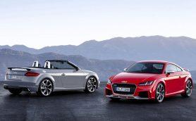 史上最強のアウディTT RSは新開発2.5リッター5気筒エンジンで400馬力!