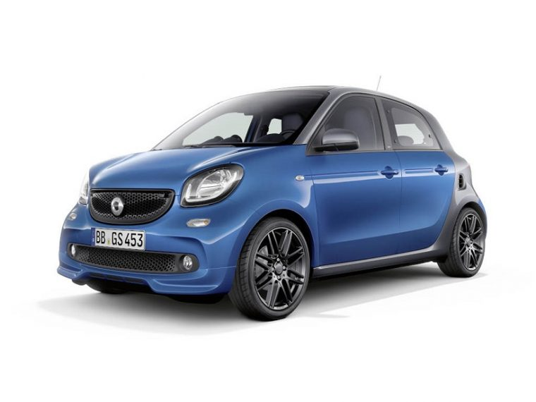 smart BRABUS Sportpaket - smart forfour