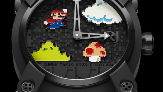 ロマン・ジェロームによる270万円(!?)の「スーパーマリオブラザーズ」の腕時計