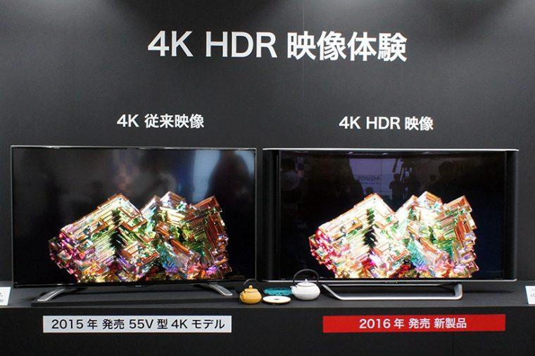 ↑全機種でHDR映像に対応