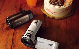 ハッピーバースデーがキレイに撮れる! 暗い室内でも美画質なビデオカメラ2モデル