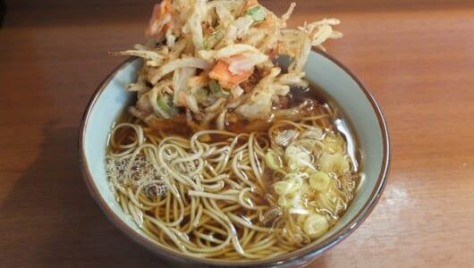 立ち食いそば好きライターが夢中で完食! 自家製麺がウリの上野・元長のクオリティに驚いた!
