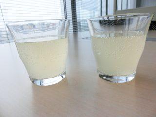 ↑レモンジーナ(左)とハニーレモンジーナ(右)の比較。ほぼ色は同じです