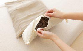 江戸庶民が夢見た枕で現代人が夢を見る!? 優しい感触の天然系枕「そば夢物語」が登場!