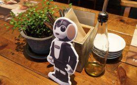 ロボホンに会いに行くなら今! あの有名カフェが期間限定でロボホン一色に!