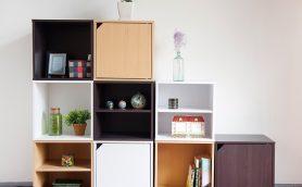 3種類のボックスだけで部屋を自在アレンジ! 不二貿易のキューブボックスの万能度