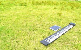 持ち運べる! 折りたためる!! そんな奇跡のピアノ「大人の紙鍵盤」って!?