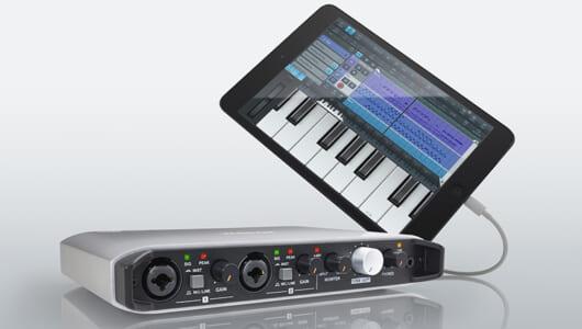 iPadをつないでどこでも高音質レコーディングできるTASCAM「iXR」