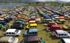 色とりどりのカングーが1000台以上! 今年の「カングージャンボリー」は5月15日(日)に開催
