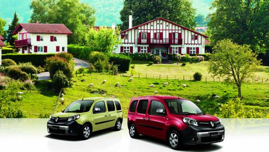 テーマは「バスク地方の風景」! ルノー・カングーに限定車「ペイサージュ」が登場
