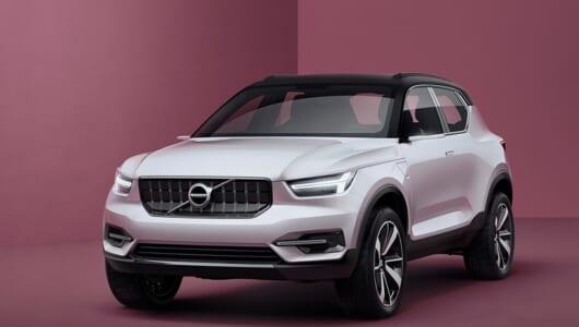 2017年に市販予定! ボルボの新コンセプトカー「40.1」と「40.2」とは?