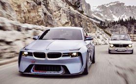 これカッコいい! BMWがM2ベースのコンセプトカー「2002オマージュ」を発表