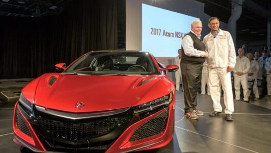 約1億5000万円のホンダ新型NSX第1号車がついに完成!