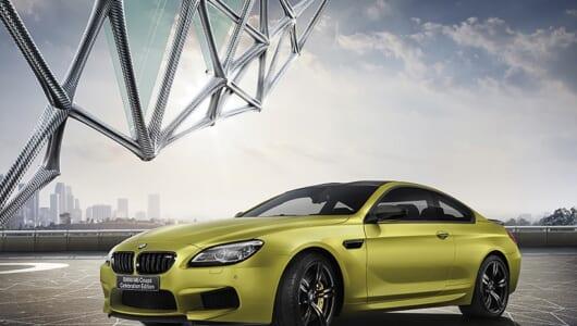 BMWの100周年特別仕様車、第6弾は600馬力のM6!
