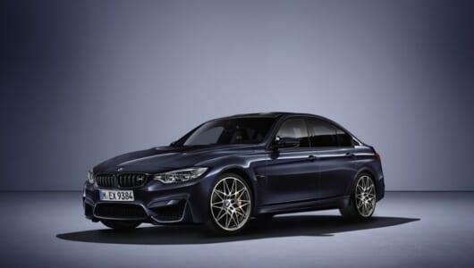世界限定500台! BMW M3の30周年を記念した特別仕様車が発表