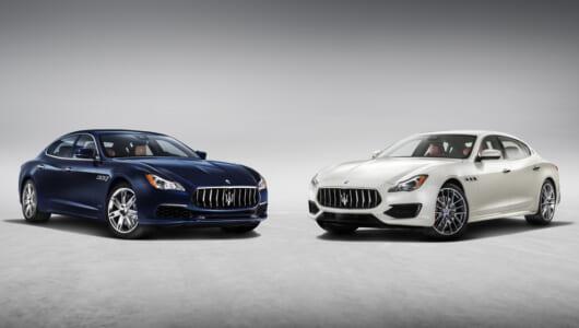 新型マセラティ・クアトロポルテが本国デビュー! マイナーチェンジで運転支援機能がより充実