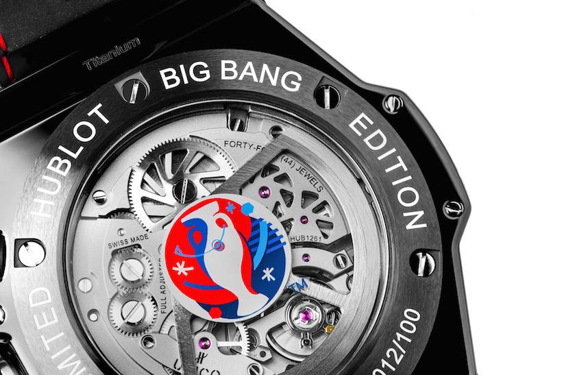 2. UEFA EURO 2016™ - Hublot Loves Football_Big Bang Unico Bi-Retrograde Chrono UEFA EURO2016_Big Bang Unico Chrono Bi-Retrograde UEFA EURO2016_CASEBACK