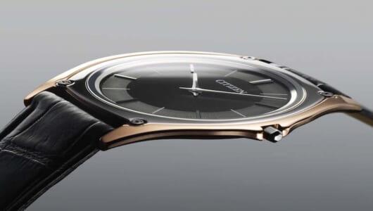3mm以下の薄さに日本が誇る腕時計製造技術が詰まったシチズン「エコ・ドライブ ワン」