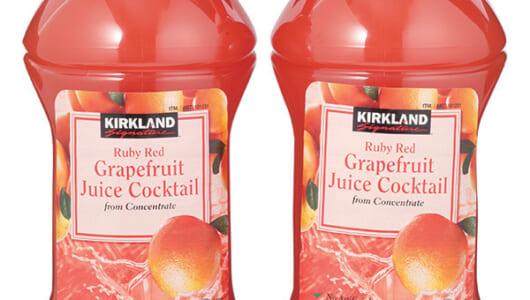 暑い日にゴクゴク飲みたい! コストコの「ソフトドリンク」は果実感満点でカクテルにも最適!