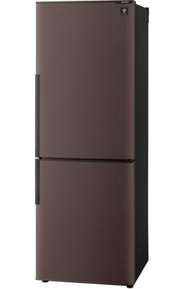 ↑シャープ SJ-PD27B(実売価格7万1060円)。271ℓの大容量で、102ℓのケース式ボトムフリーザーも装備しています