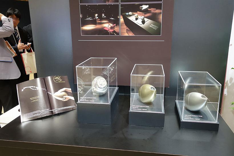 会場には、「まほうびん」の未来をイメージしたコンセプトモデルも参考出展として展示していました