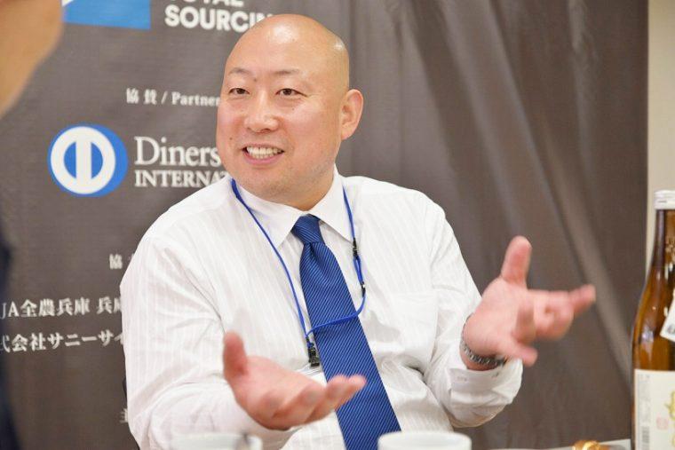 ↑新澤醸造店の五代目にしてSAKE COMPETITION 2016の審査員、新澤巌夫さん
