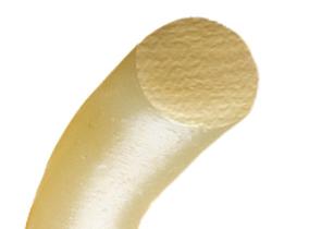 ↑円の断面を持つ塩の麺のイメージ