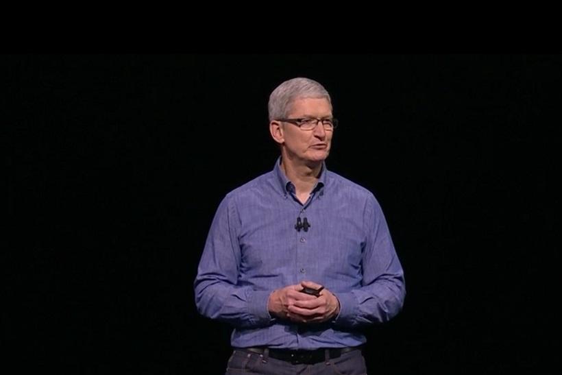 ↑WWDC 2016に登場したアップルCEOのティム・クック氏