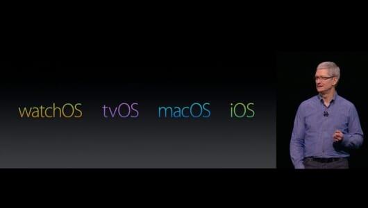 【速報】macOSなど4つのOSが発表されたアップルWWDC 2016まとめ