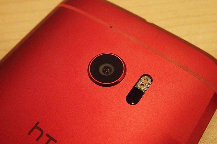 ↑HTC 10のメインカメラ