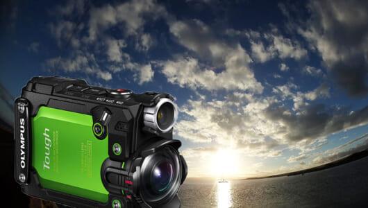 5つのセンサーでログを記録! アウトドアの相棒にしたいアクションカメラ オリンパス「STYLUS TG-Tracker」