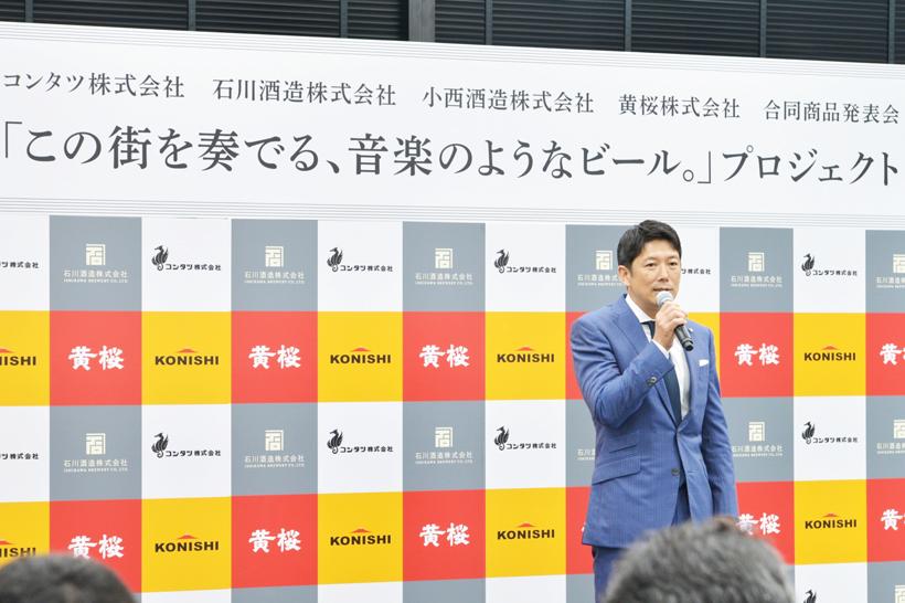 ↑コンタツ株式会社の津久浦慶明社長