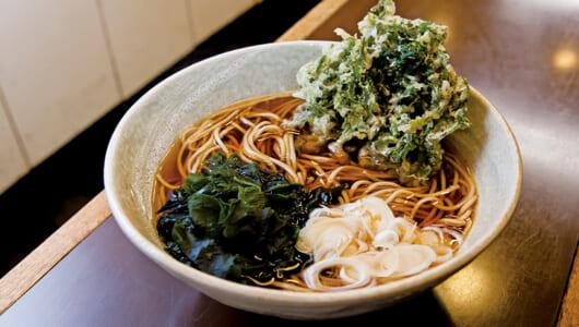 【昼は立ち食いそば】リピート率80%!? 見た目ではなく味で魅了する岩本町「みのがさ 本店」