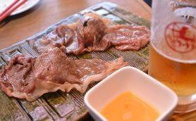 """【進化する人形町!】""""馬""""すぎる生肉と斬新な肉料理がすべて本命級に美味な「肉寿司」"""