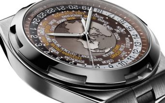 World Time Overseas marron7700V-110A-B176
