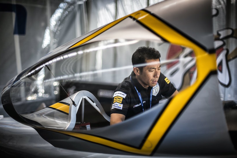 ↑日本人パイロットの室屋義秀選手(C)Predrag Vuckovic/Red Bull Content Pool
