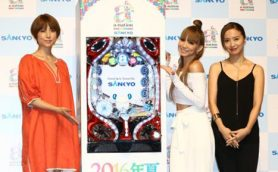 hitomiが出演時間への不満を吐露? 国内最大級の夏フェスを再現したSANKYOの新機種発表会