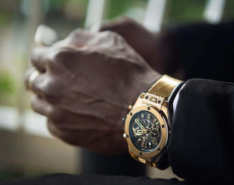 Usain Bolt wearing the Big Bang Usain Bolt_2