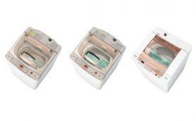 1回で40Lも節水できて汚れにも強い! できる「ツインウォッシュ」シリーズ3機種がアクアから発売