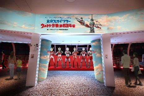 ↑東京スカリツリー天望回廊装飾イメージ