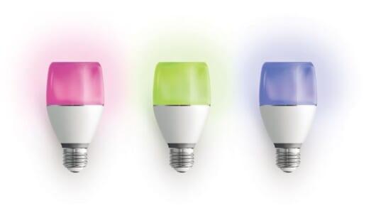 ソニーがLED電球を作るとこうなる! 192色に光るスピーカー機能搭載の「LSPX-103E26」